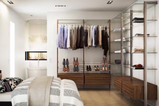 C-Serie Garderobe Walnuss  von  uno form