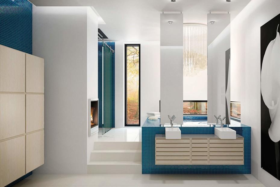C-Series bath Maple
