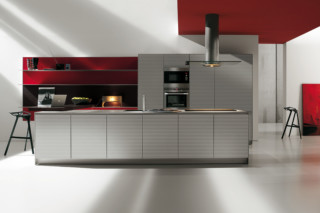 Artematica Multiline Ruled Aluminium  by  Valcucine