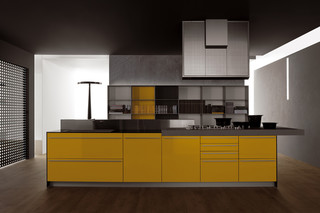 Artematica Multiline yellow  by  Valcucine