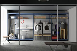 Laundry shelf system  by  Valcucine