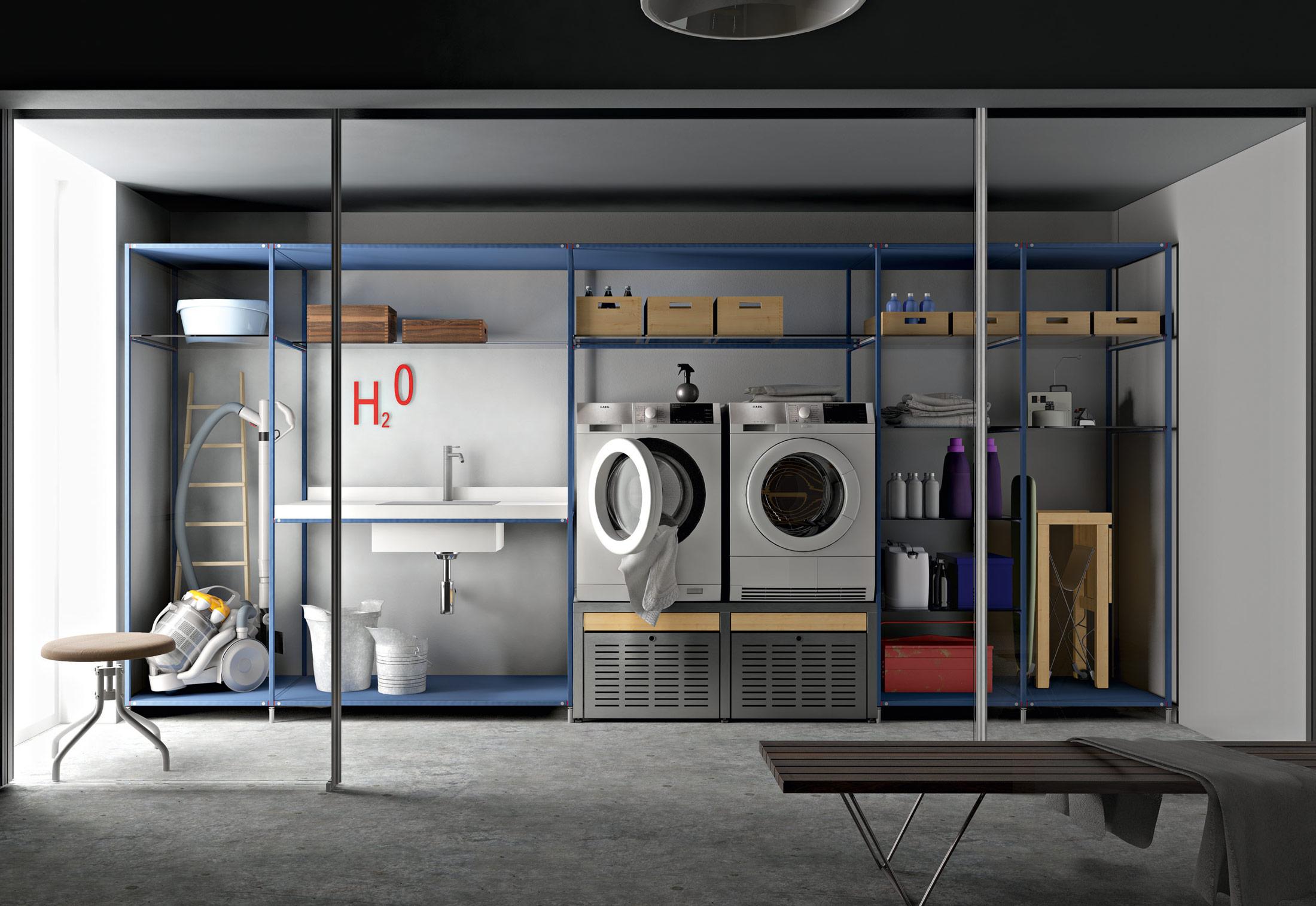 Laundry Shelf System By Valcucine Stylepark
