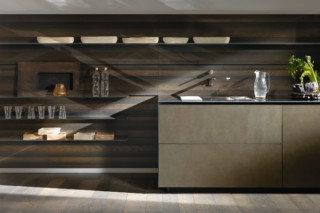 Riciclantica Inox Touch  by  Valcucine