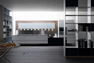 Riciclantica White Lacquered Aluminium  by  Valcucine