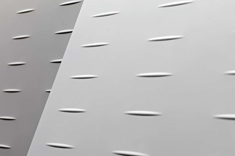 Riciclantica White Lacquered Aluminium