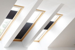 Folding curtain Duoline  by  VELUX
