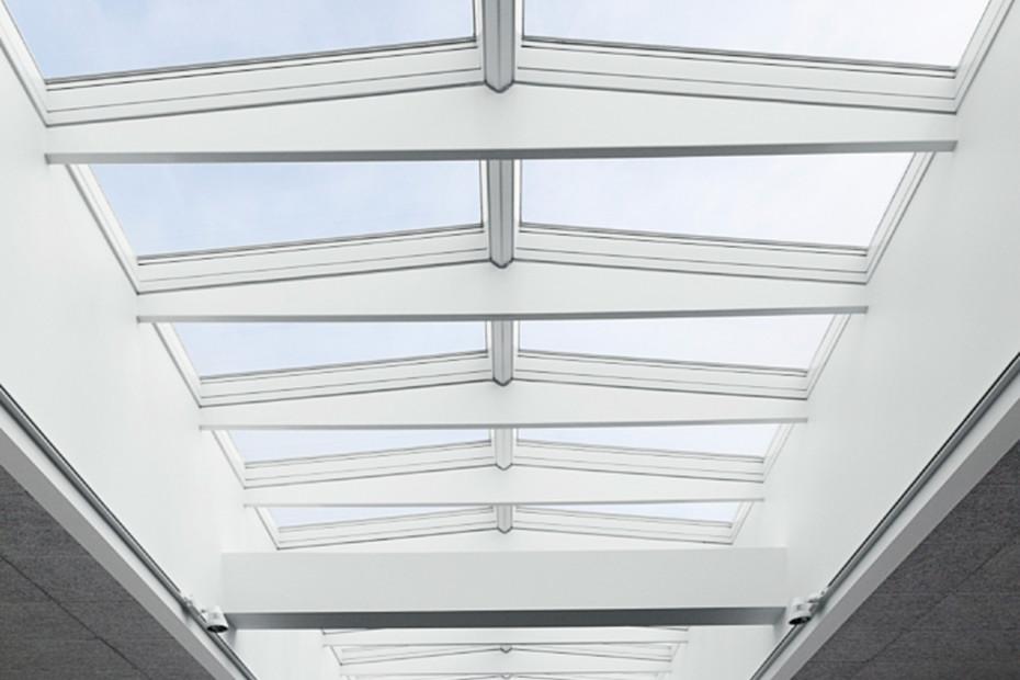 Modulares Oberlicht-System