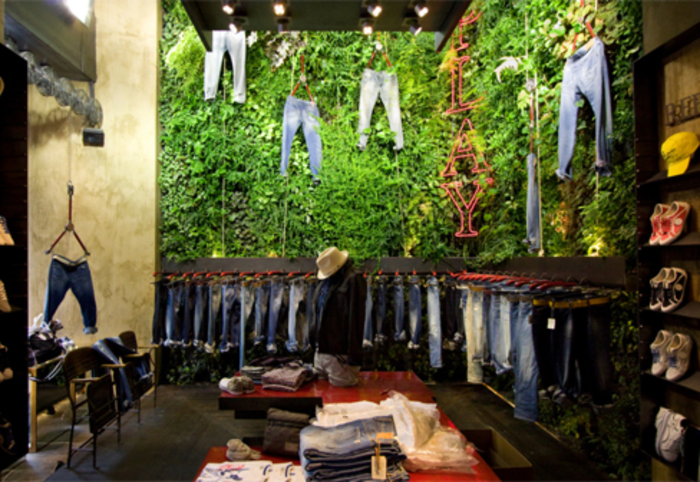 Indoor Wall Replay By Vertical Garden Design Stylepark