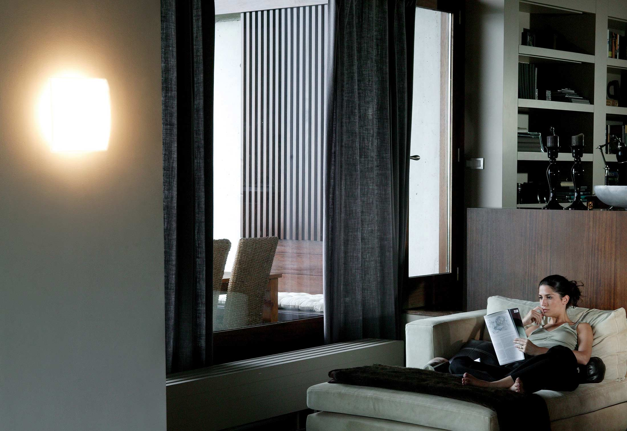 quadra ice 1133 von vibia stylepark. Black Bedroom Furniture Sets. Home Design Ideas