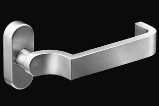 Stainless steel narrow stile lever handle RT 803  by  Vieler