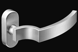 Stainless steel narrow stile lever handle RT 806  by  Vieler