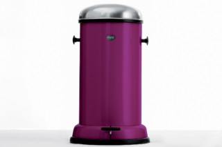Pedal Bin 14L Purple Cut  by  Vipp