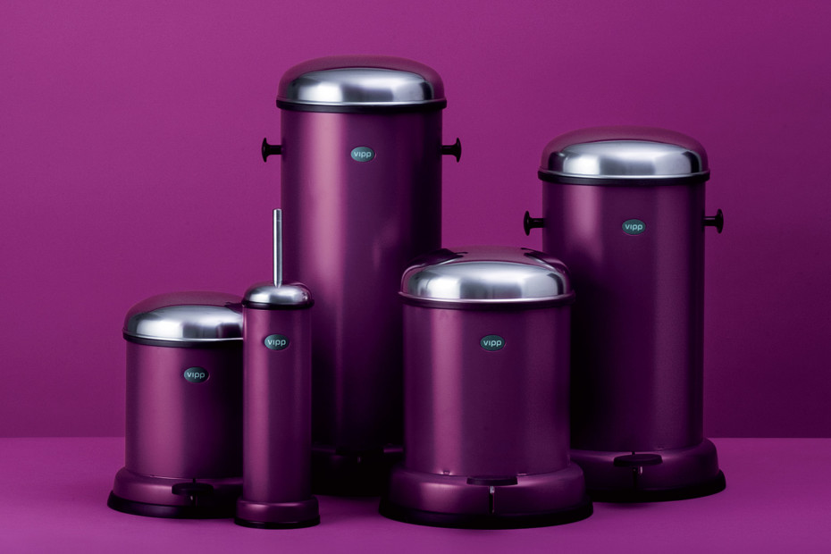 Pedal Bin 14L Purple Cut