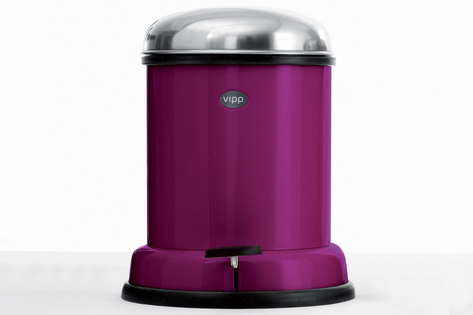 Pedal Bin 4L Purple Cut