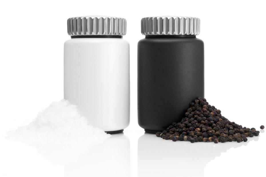 Salt and Pepper caster