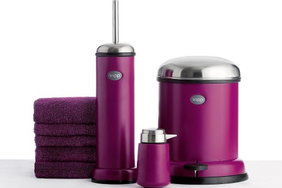 Soap Dispenser Purple Cut