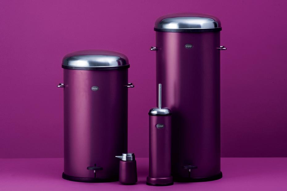 Toilet brush Purple Cut