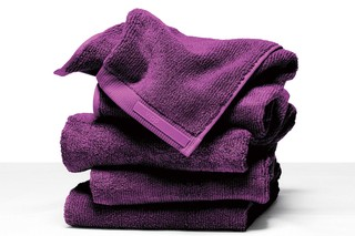 Towels Purple Cut  by  Vipp