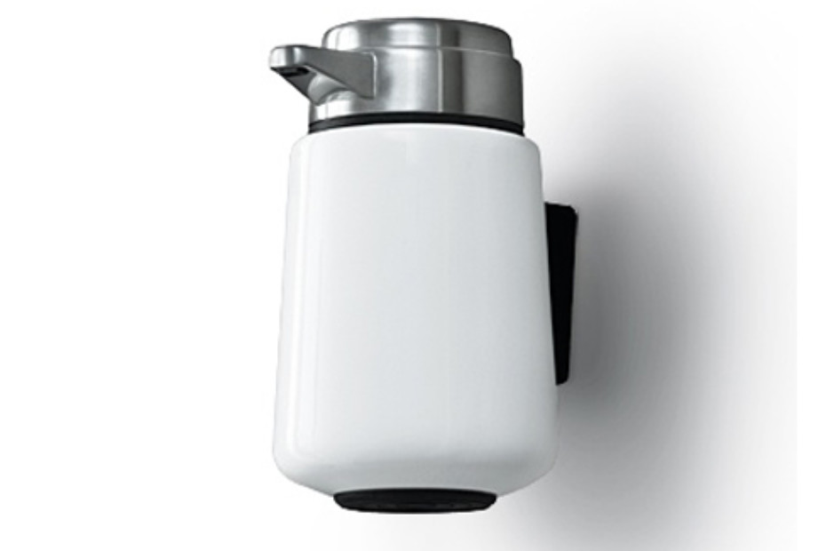 Wallmounted soapdispenser