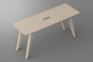 Aetas bench  by  vitamin design