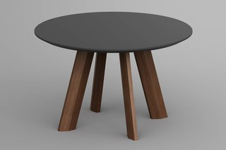 Rhombi table round  by  vitamin design