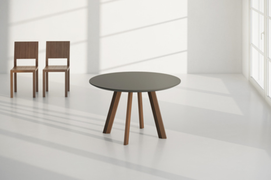 Rhombi table round