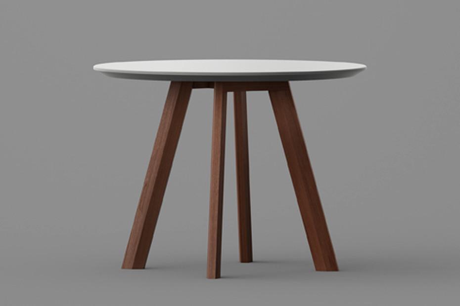 Rhombi Tisch rund