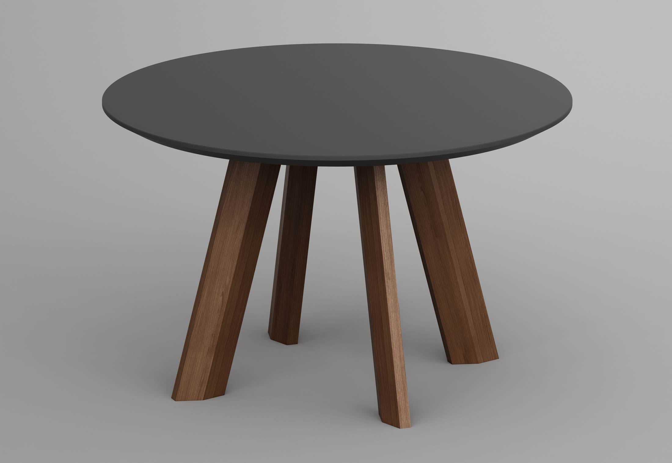 Rhombi tisch rund von vitamin design stylepark for Tisch design rund