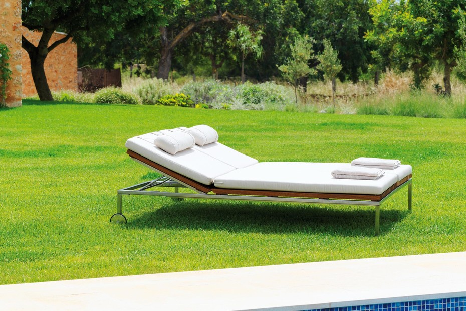 Home Relax Double Sunlounger