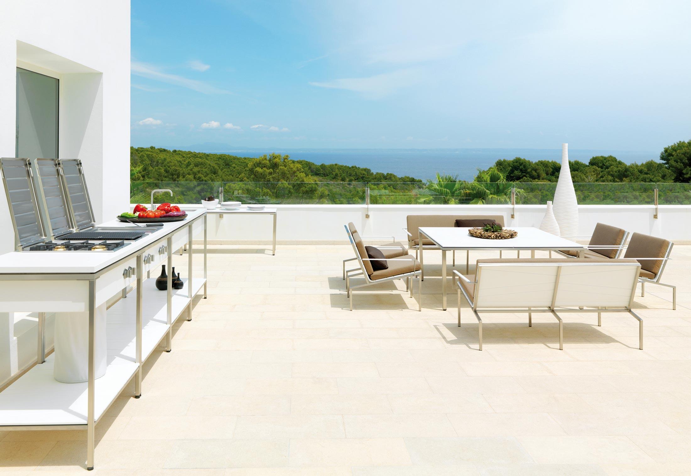 Outdoor Küchen Frammersbach : Outdoor kitchen kochmodul von viteo stylepark
