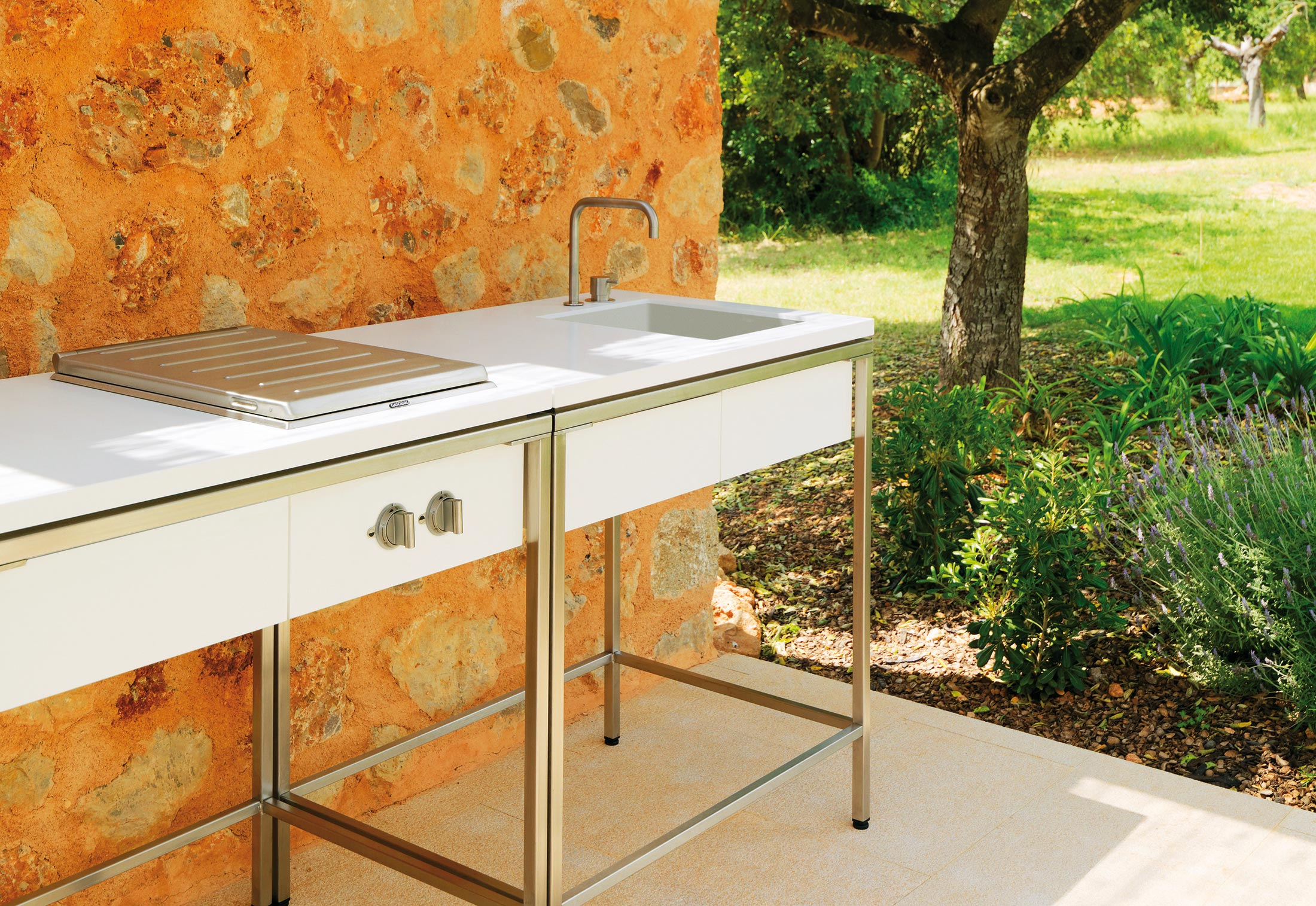 Merveilleux ... Outdoor Kitchen Sink Modul ...