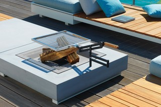 Pure Lounge fire table  by  VITEO