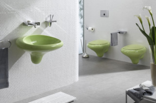 Istanbul wall-hung washbasin  by  VitrA Bathroom