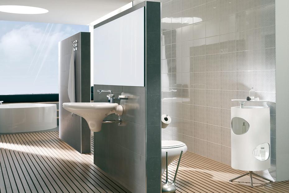 Istanbul WC brush holder