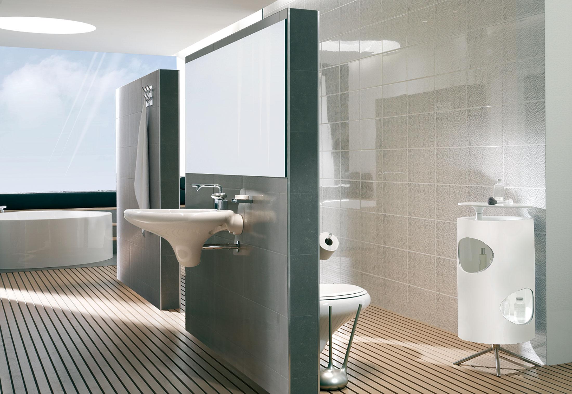 Istanbul Wc Brush Holder By Vitra Bathroom Stylepark