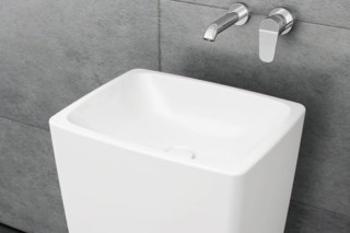 Metropole Monoblock washbasin  by  VitrA Bathroom