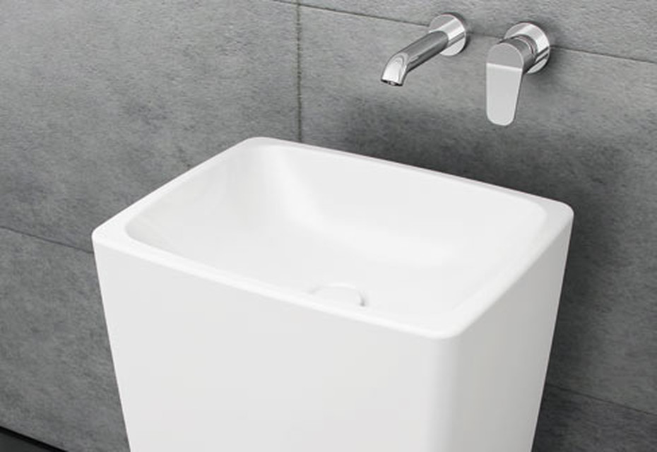 Metropole Monoblock washbasin