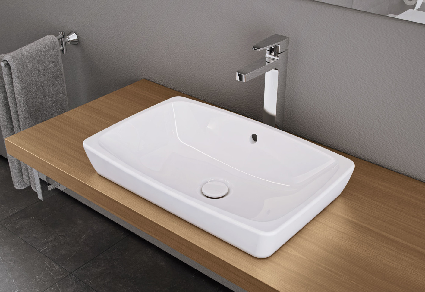 Metropole Over Counter Basin By Vitra Bathroom Stylepark
