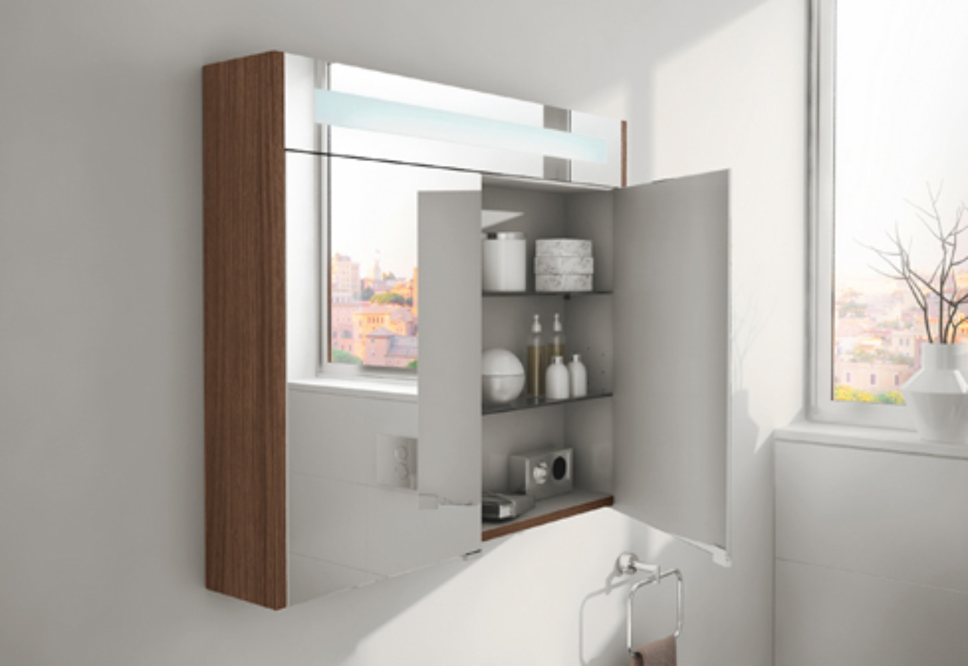 S20 mirror cabinet by vitra bathroom stylepark for Bathroom mirror cupboard