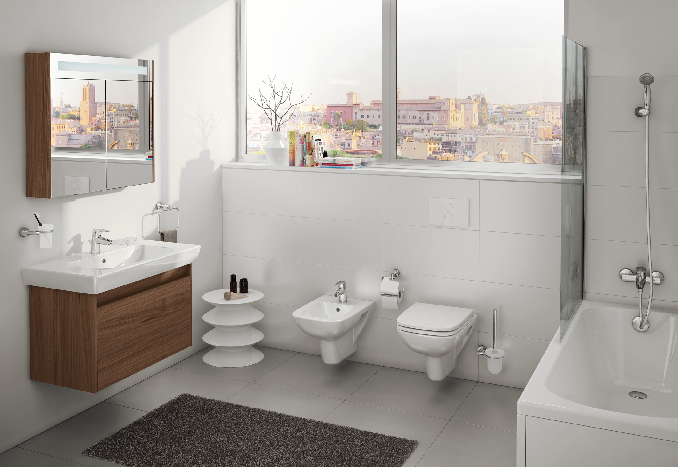 S20 mirror cabinet by VitrA Bathroom | STYLEPARK