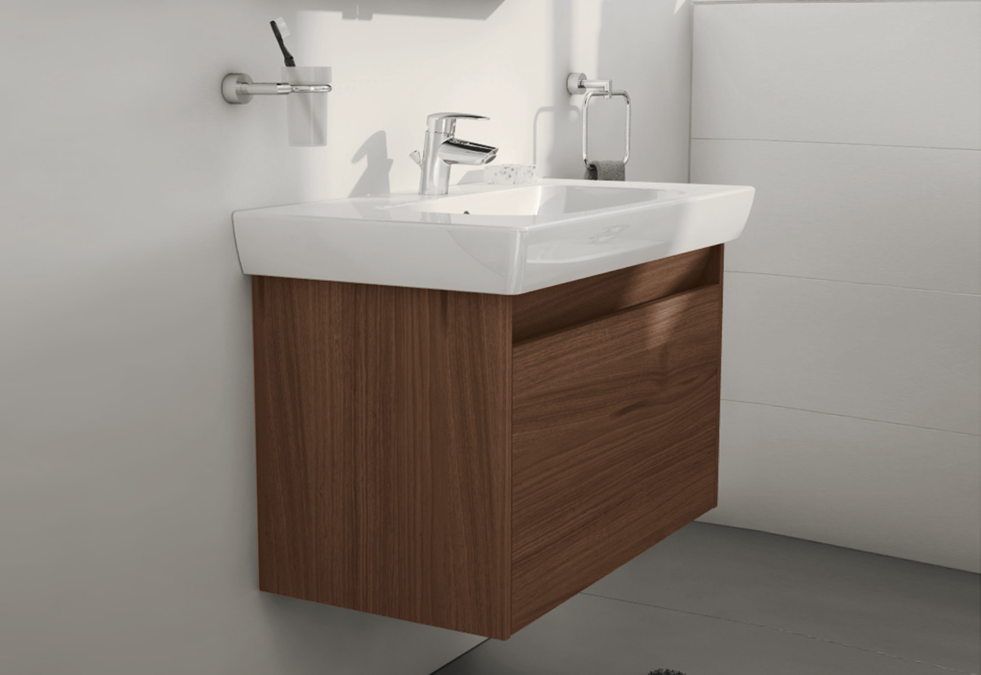 S20 washbasin vanity unit by vitra bathroom stylepark for Bathroom bathroom bathroom