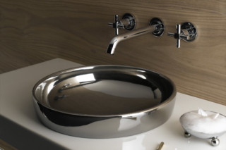 Water Jewels wash basin with platin bowl  by  VitrA Bathroom