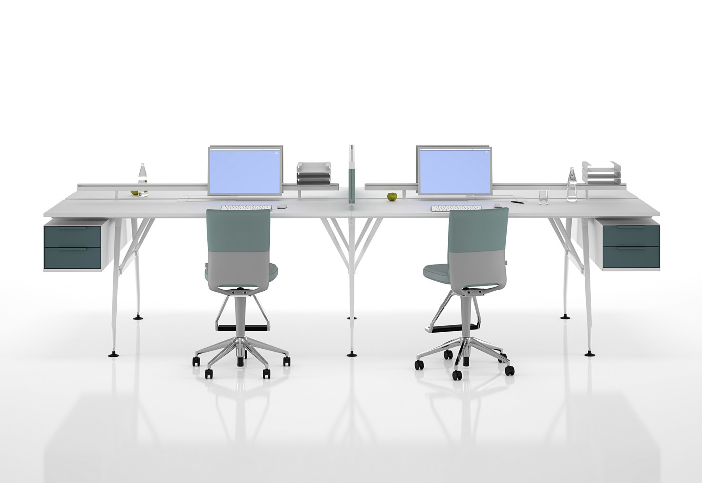 ad hoc office system by vitra stylepark. Black Bedroom Furniture Sets. Home Design Ideas