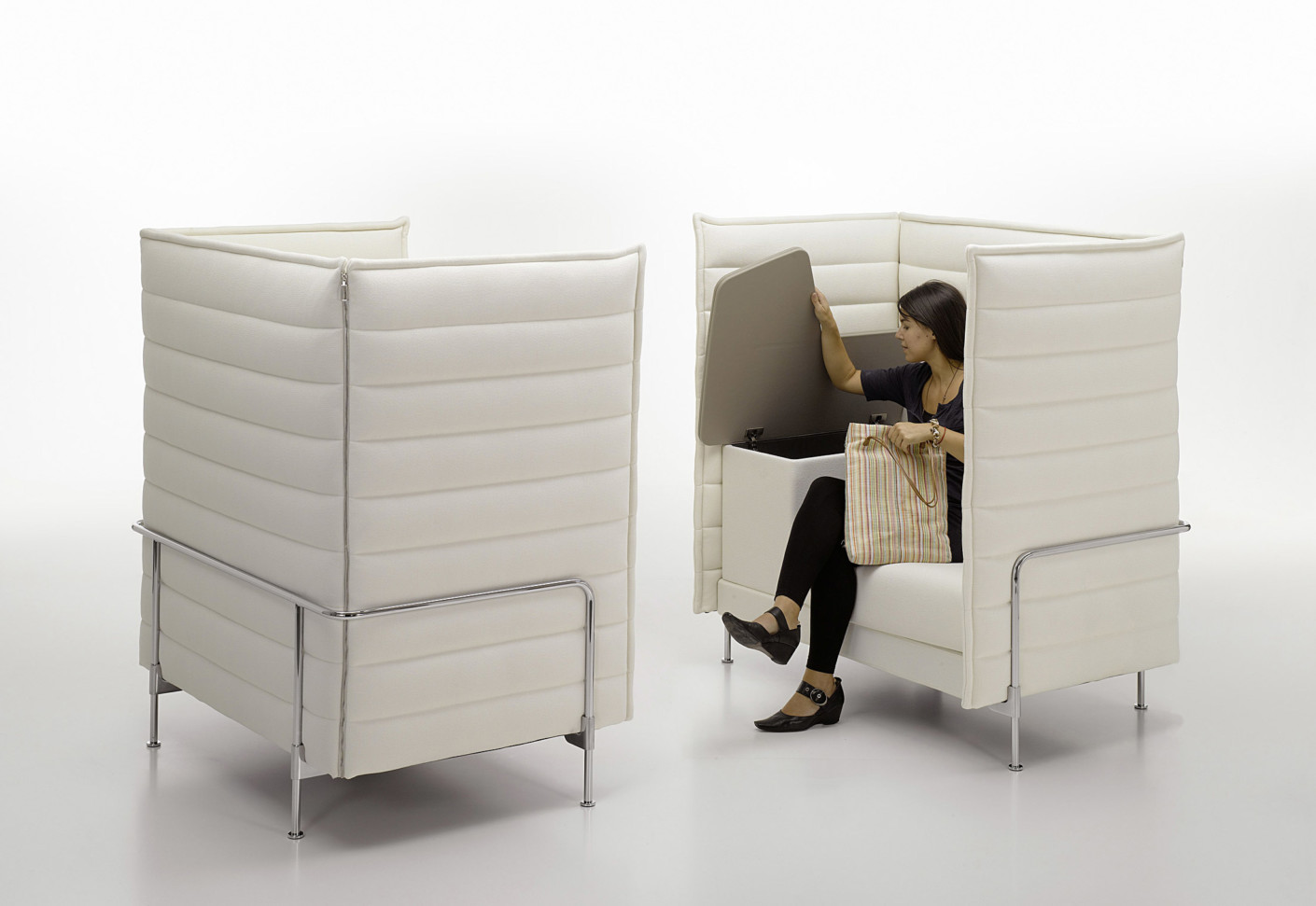 alcove highback work by vitra stylepark