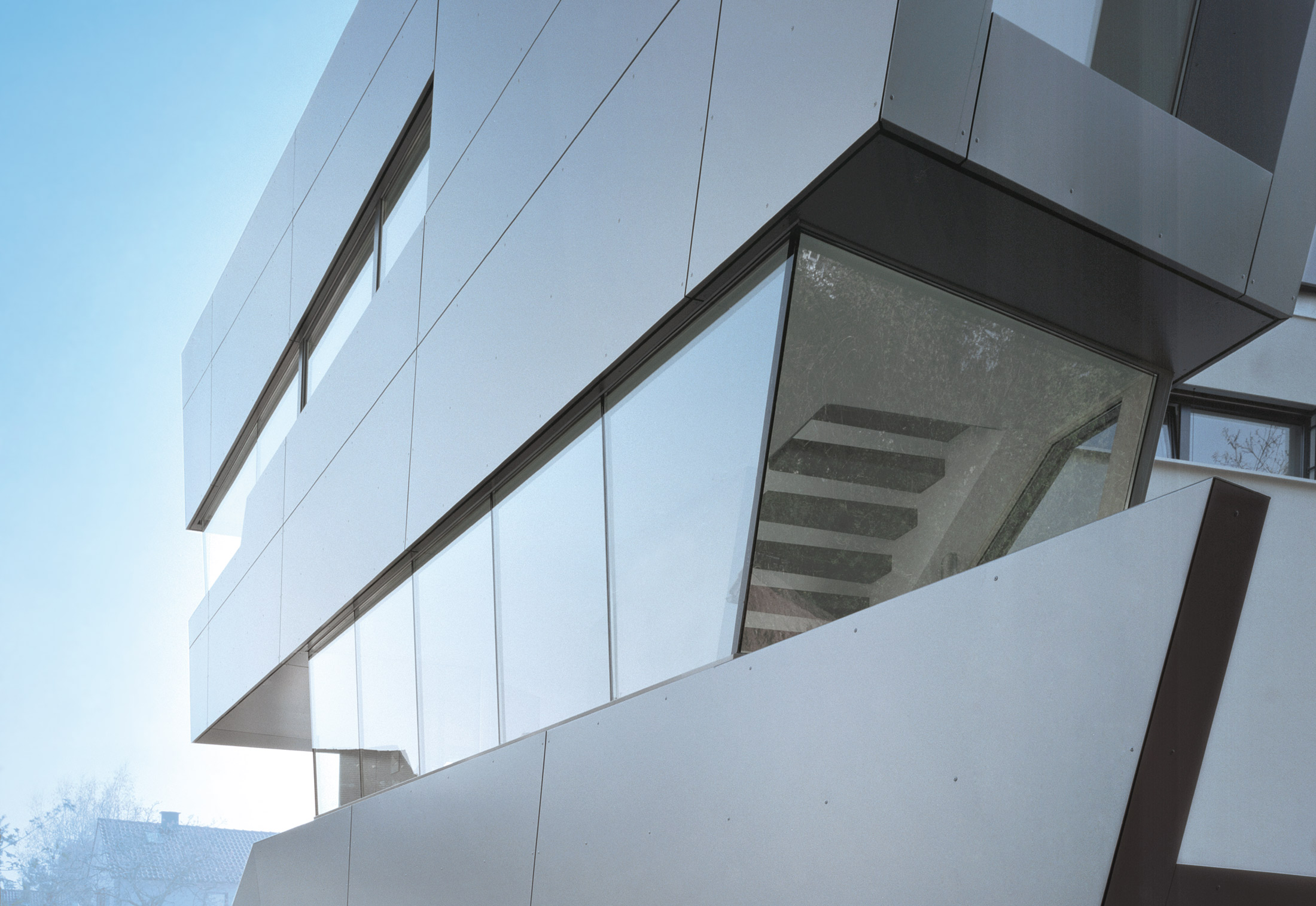Alucobond Metal Panel : Alucobond silbermetallic by a composites stylepark