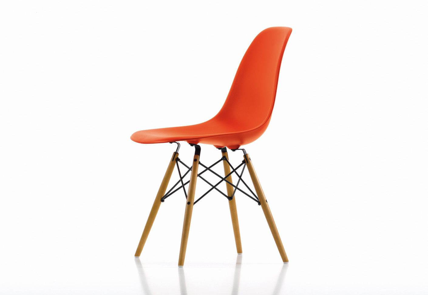eames plastic side chair dsw von vitra stylepark. Black Bedroom Furniture Sets. Home Design Ideas