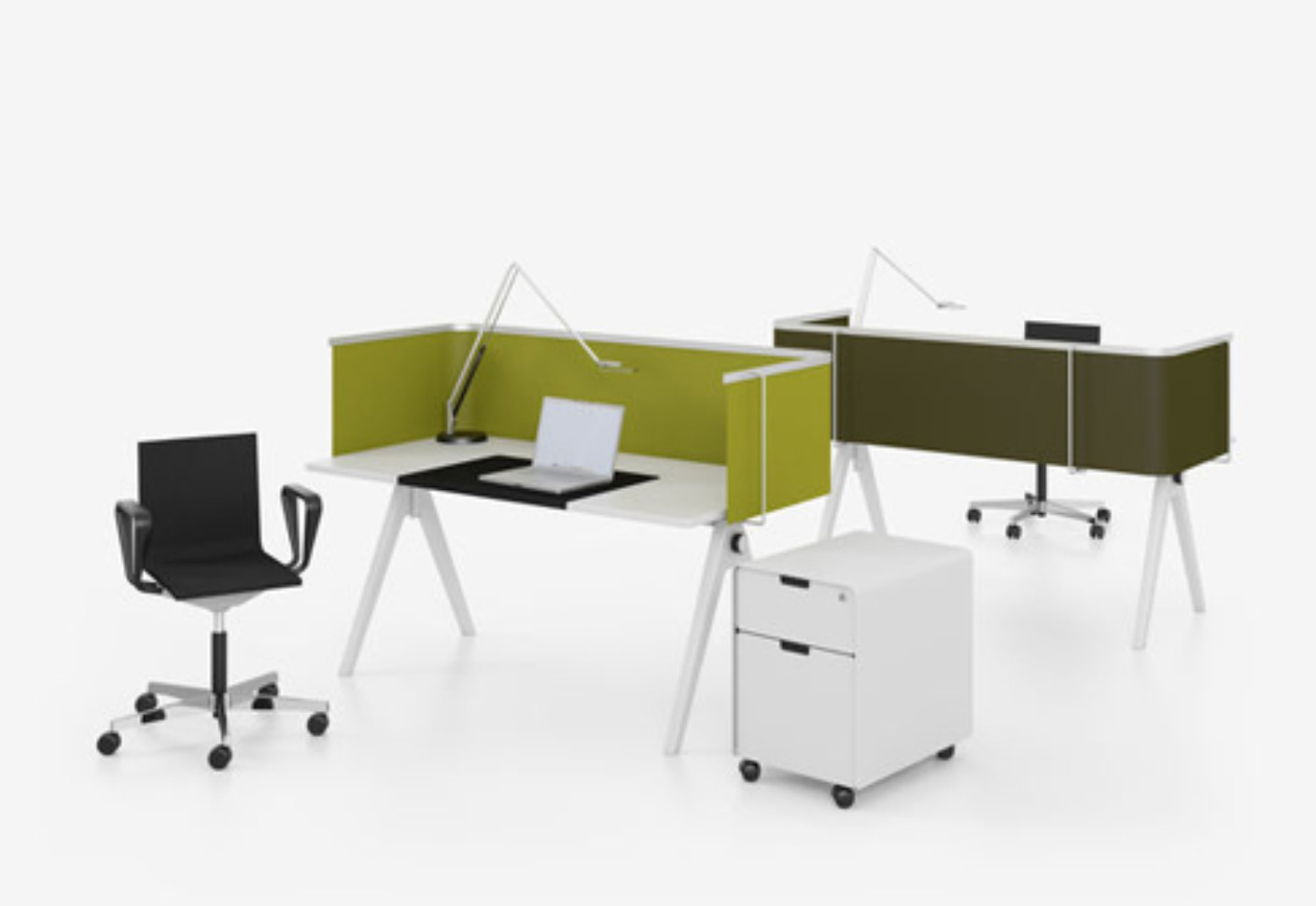 Joyn Single Desk by Vitra | STYLEPARK -