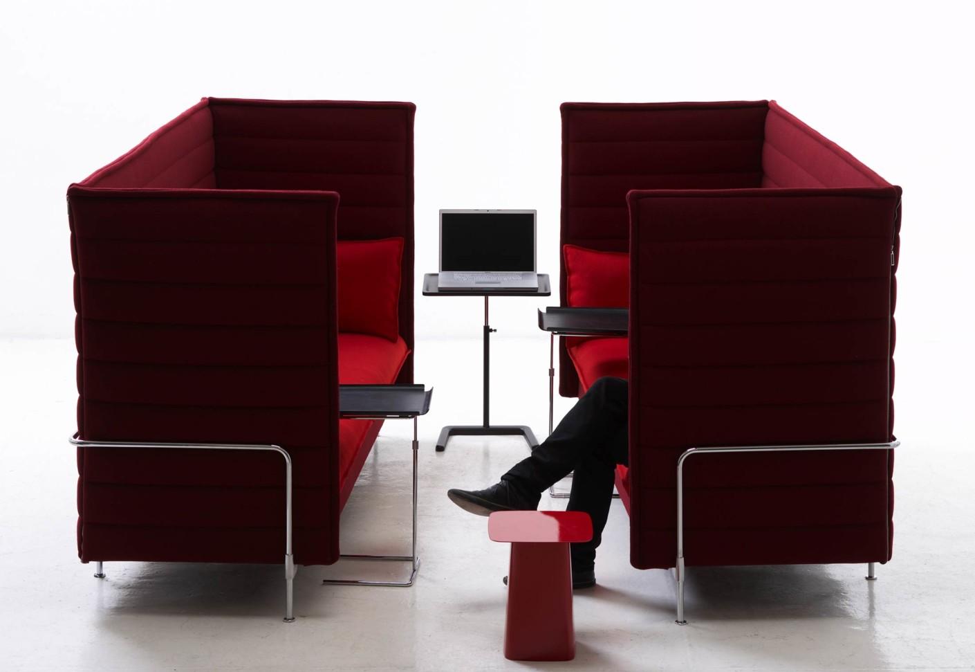 alcove highback sofa by vitra stylepark. Black Bedroom Furniture Sets. Home Design Ideas