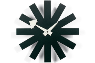 Asterisk Clock black  by  Vitra