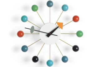 Ball Clock multicoloured  by  Vitra